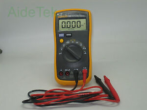 New FlUKE 15B Multimeter AC/DC/Diode/R/<wbr/>C auto/manual