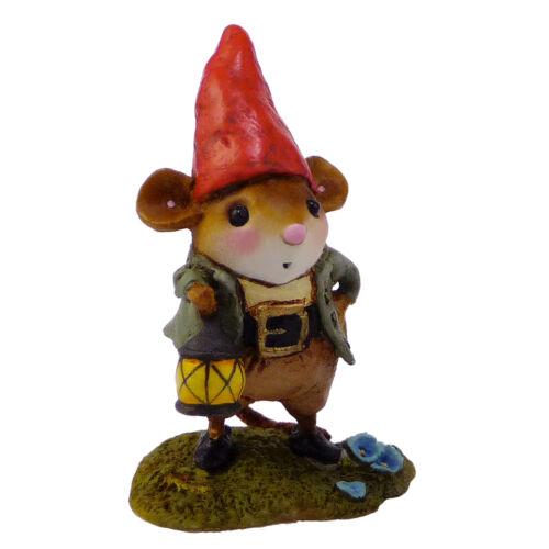 Garden Gnome Wee Forest Folk Miniature Figurine M-391