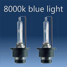 2X D2S 8000K HID HEADLIGHT BULBS ELECTRIC BLUE FOR SAAB JAGUAR MAZDA SEAT