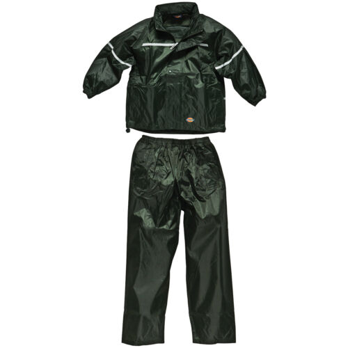 DICKIES KIDS GREEN WATERPROOF SUIT AGE 3-12 YEARS VERMONT WP11000 CHILDRENS