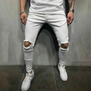 Jeans De Moda Pantalon Para Hombre Pantalones De Mezclilla Calcas Masculinas
