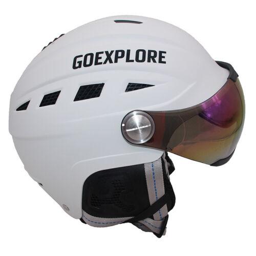 Men Ski Half Covered Integrally ABS Outdoor Sports Helmet Women Kids Comfortable