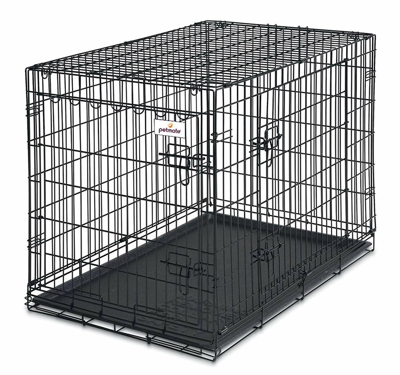 Petmate 41270 2-Door Training Retreat 50-70 lbs