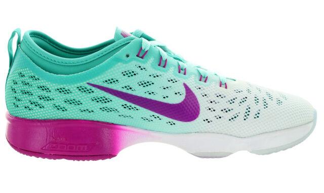 0006305339c4 Nike Women s Zoom Fit Agility Training Shoe Size US 6.5 M Lt Retro Fchs Flsh