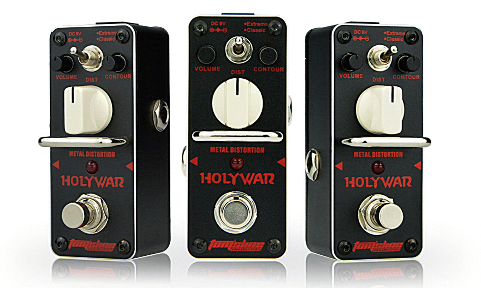 Tom's Line Engineering AHOR-3 Holy War Metal Distortion Guitar Effects Pedal