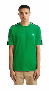 T-shirt-Fred-Perry-uomo-M7513-verde-AI19
