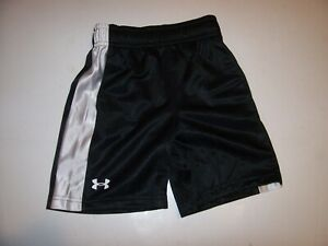 NEW Under Armour 2T or 3T elastic waist shorts baby boy red black gray