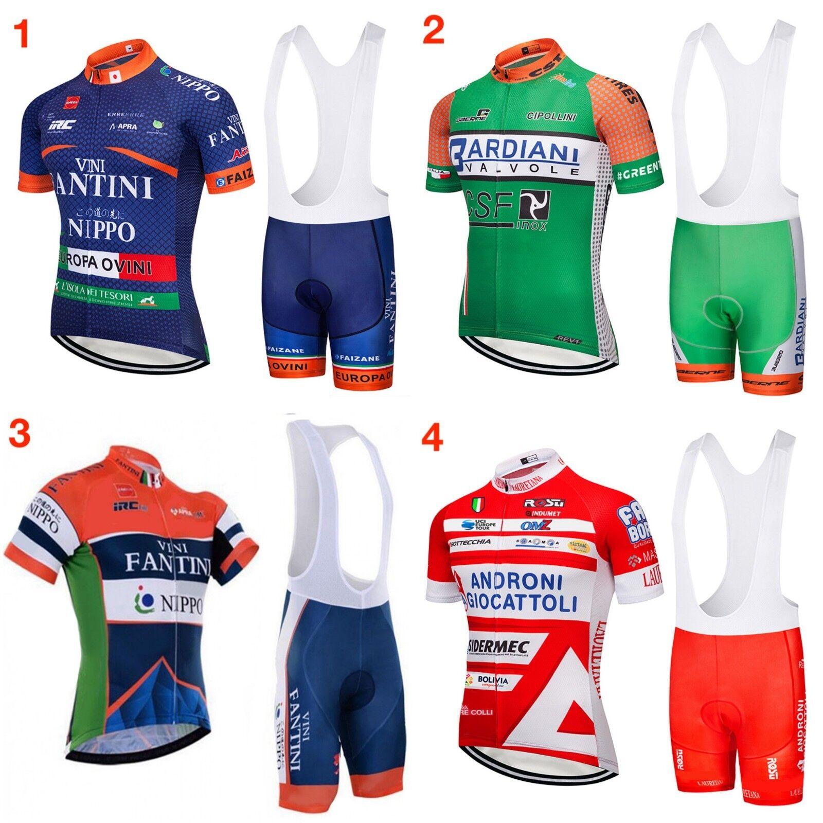 Completo Ciclismo estivo 2018 abbigliamento maglia salopette 2 Pz.