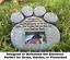 Cat-Stone-Grave-Paws-Marker-Name-Headstone-Garden-Pet-Memorial-Paw-Dog-Print thumbnail 4