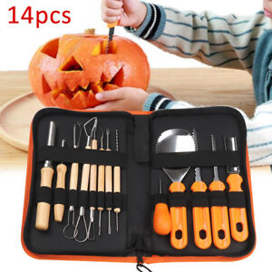 Professionnel-14pcs-Pumpkin-Carving-Halloween-Kit-A-faire-soi-meme-Making-Outils-de-modelisation-UK