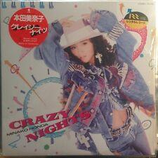 "Minako Honda - Crazy Nights 12"" Vinyl Japan Eastworld T12-105 Funk City Pop"