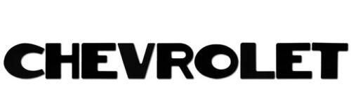 "Vintage CHEVROLET Script Emblem Vinyl Decal Sticker 1/"" x 9/"" Many Colors"