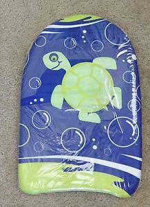 """O'rageous blue/green turtle background 18"""" FOAM KICKBOARD, 6+ READ DIRTY"""