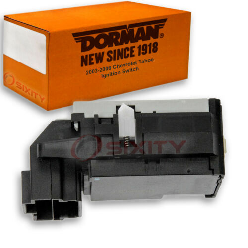 Dorman Ignition Switch for Chevy Tahoe 2003-2006 Key Starter hq