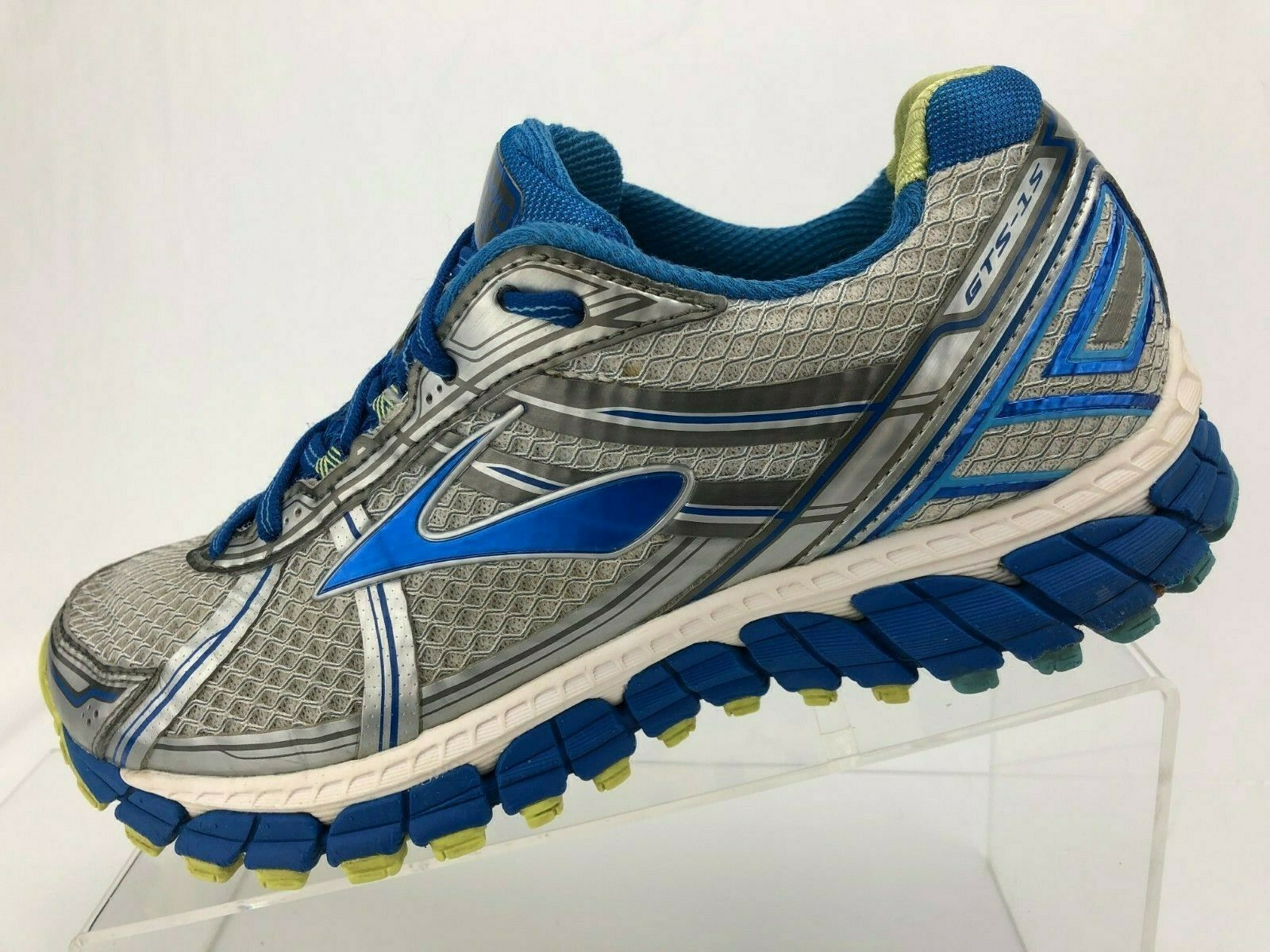 Brooks Adrenaline GTS 15 15 15 Running shoes bluee Grey Training Sneakers Womens 9 B c2194e