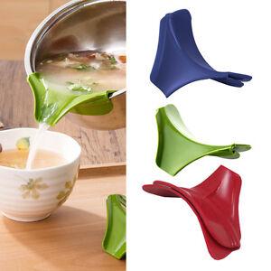 Sopa-de-cocina-Deflector-de-Silicona-Anti-Derrame-pour-Gadget-Herramientas-Nuevo