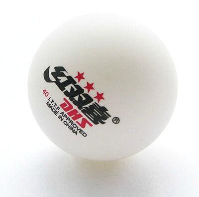3 Boxes (18Pcs) 3 Stars DHS 40MM Olympic Table Tennis White Ping Pong Balls 2.8G
