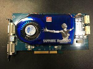 Sapphire-X1950-PRO-Dual-DVI-512MB-DDR3-256bit-AGP-RARE-Videocard