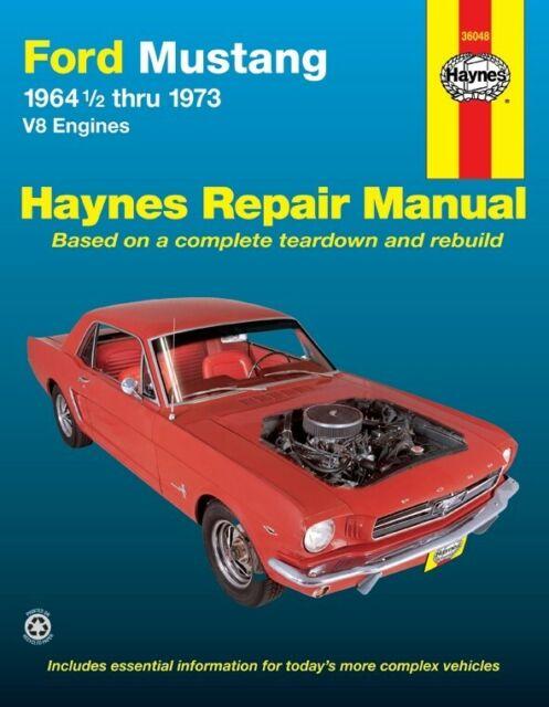 Repair Manual-Base Haynes 36048 fits 68-71 Ford Mustang Manuals ...