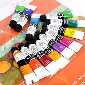 Winsor & Newton Artist Grade Transparent Gouache Paint Set 24 Colors Sets
