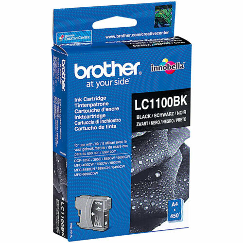1 von 1 - Brother Original Tintenpatrone LC1100BK, black