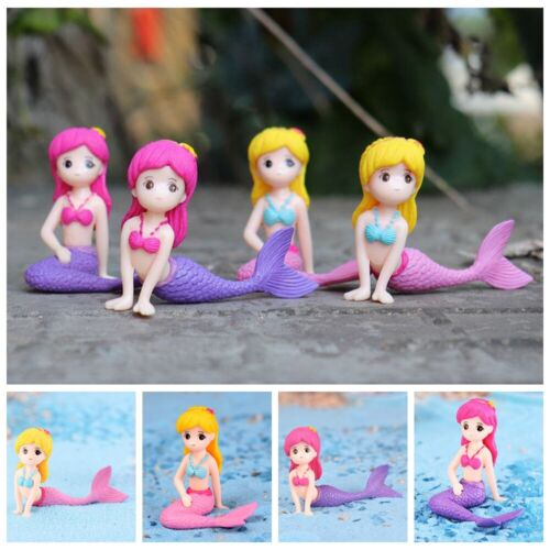 Meerjungfrauen Figuren Miniatur Garten der Feen Home Dekor Prinzessin