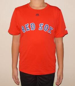 4947a5509 Image is loading Majestic-Boston-Red-Sox-MLB-Youth-Cool-Base-