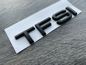 AUDI-TFSI-MATT-BLACK-BADGE-LETTERING-TT-A1-A3-A4-A5-A6-A7-S-LINE-BLACK-EDITION