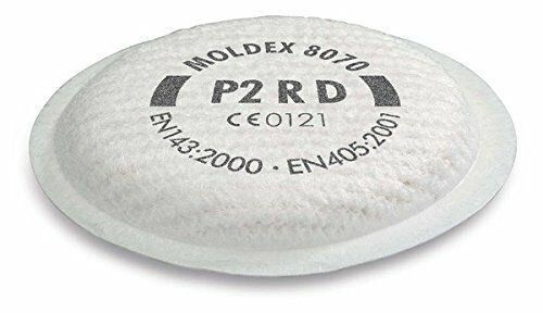 Moldex 8080 P3RD Particulate Filter 8900 Gas Fliter for Series 8000 /& 5000 Masks