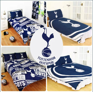 Tottenham-Hotspur-Spurs-Football-Parure-De-Lit-Simple-Lit-Double-Enfants-Adultes