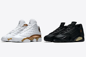 brand new a0a50 2487d Details about 2017 NIKE AIR JORDAN RETRO XIII 13 XIV 14 DMP PACK SZ 11  Finals Pack 897563-900