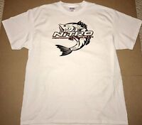 Nitro Boats T-shirt White Xlarge With 2 Decals