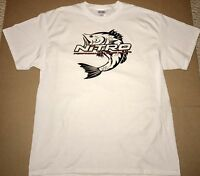 Nitro Boats T-shirt White Large With 2 Decals
