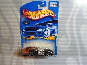0910 Mangelware 2001 Hot Wheels Sammler #137 =arachnorod= Schwarz 5sp Modellbau