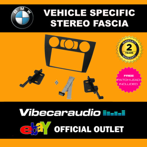 BMW 3 E90 E91 E92 E93 Series Doble Din Stereo Fascia Panel Adaptador CT23BM08
