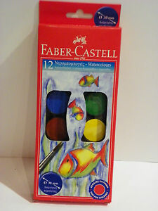 FABER-CASTELL-WATERCOLORS-PAINTS-KIDS-CHILDREN-PAINTING-CREATIVE-DECORATE