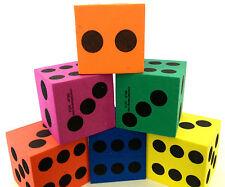 12 Foam Playing Dice Teacher Supply Math Montessori NEW