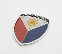 High Quality Philippines Real Car Auto Metal Automotive Fender / Grille Emblem