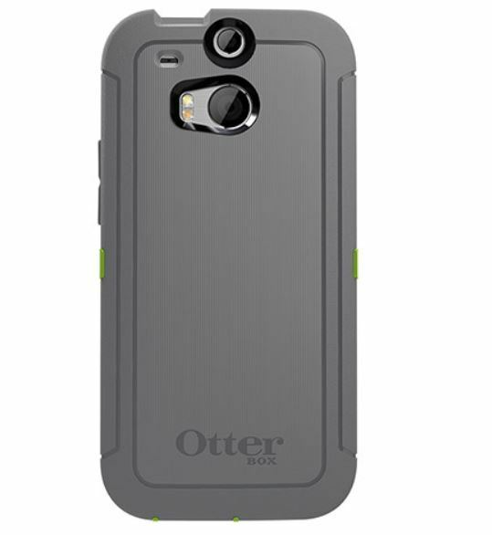 newest b4e1f 10718 OTTERBOX Defender Series for HTC One M8 Black Rugged Case