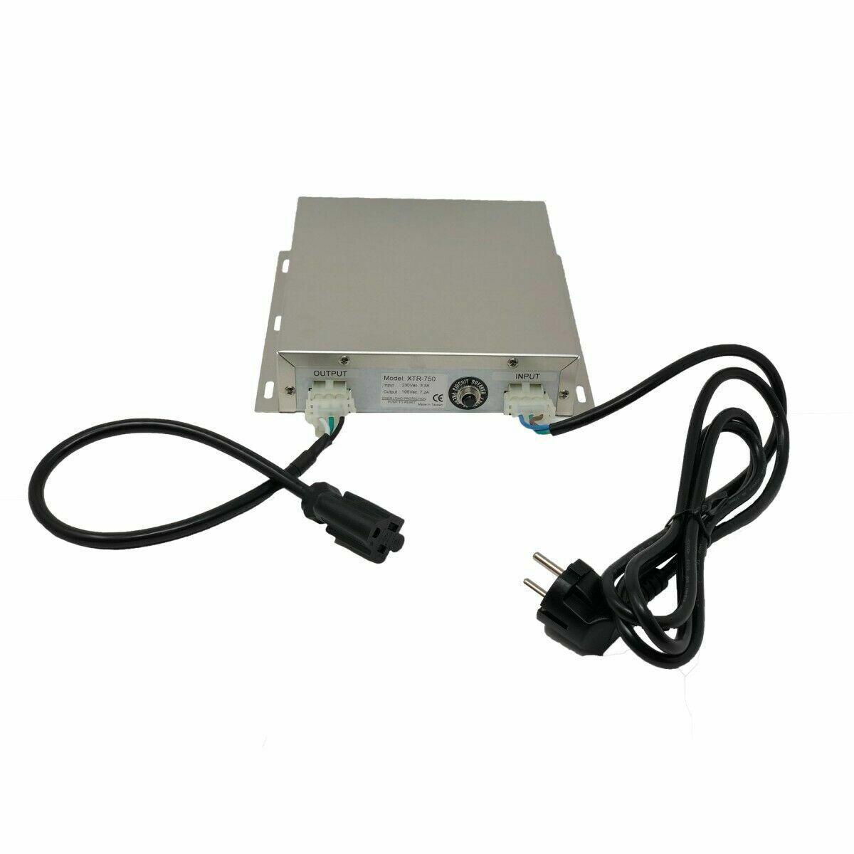 PowerXchanger XTR-750 Step Down Auto Transformer - 750 Watt