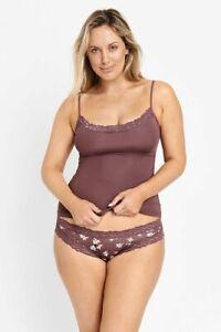 Jockey Ladies Parisienne Classic Bikini Underwear size 16 Colour Plum Floral