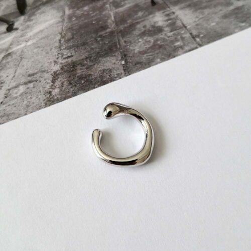Tragus Non Piercing Round Clip Earrings Ear Cuff Jewelry Fashion Accessories
