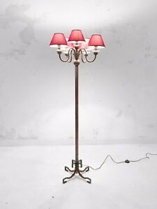 1930-PETITOT-LAMPADAIRE-ART-DECO-MODERNISTE-BAUHAUS-CUBISTE-Adnet