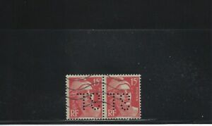 AgréAble Perforé France N° 813 Paire - Sl 138