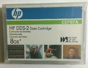 Doux Hp Dds-2 C5707a Datenkasette Data Cartridge 8 Go Neuf Dans Sa Boîte A-afficher Le Titre D'origine Dans La Douleur
