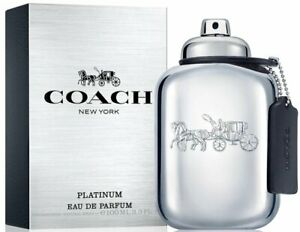 COACH NEW YORK PLATINUM by Coach cologne for men EDP 3.3 / 3.4 oz New in Box
