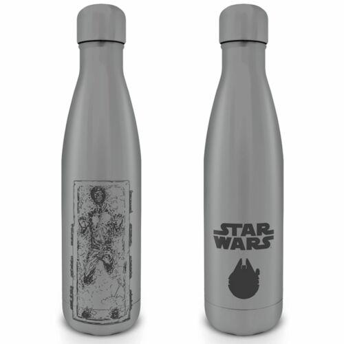 Alu-Trinkflasche mit Deckel Han Carbonite Größe Ø6,5 H28 cm Star Wars