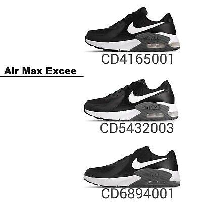 Nike Air Max Excee Black White Men Women Youth Kids Running Shoes Pick 1 | eBay