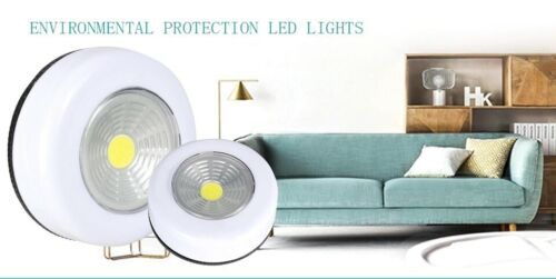 LED Under Cabinet Light With Adhesive Sticker Wireless Wall Lamp Wardrobe Cupboa