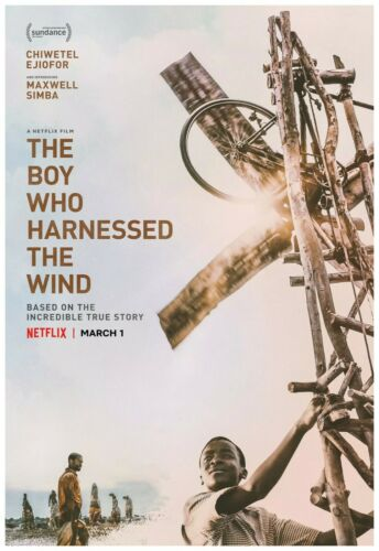 """Wall Art The Boy Who Harnessed The Wind Movie Poster Full Color Print 24x36/"""""""
